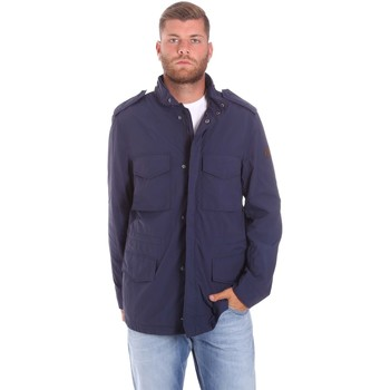 Vêtements Homme Parkas Lumberjack CM68821 002EU Bleu