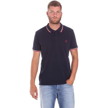 Vêtements Homme Polos manches courtes Lumberjack CM45940 016EU Bleu