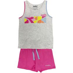 Vêtements Enfant Ensembles de survêtement Diadora 102175900 Gris