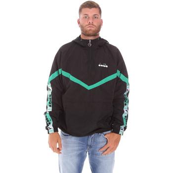 Vêtements Homme Blousons Diadora 502175815 Noir