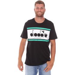 Vêtements Homme T-shirts manches courtes Diadora 502176632 Noir