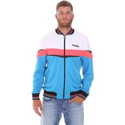 Vêtements Homme Vestes de survêtement Diadora 102175669 Bleu