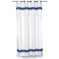 Maison & Déco Rideaux, stores Fouta Futée CASABLANCA 210 à 240cm rideau ajustable hauteur Blanc