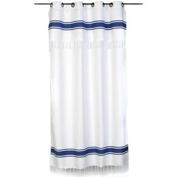 Maison & Déco Rideaux, stores Fouta Futée CASABLANCA 250 à 280cm rideau ajustable hauteur Blanc