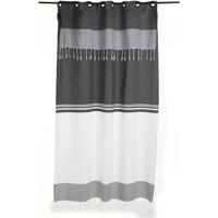 Maison & Déco Rideaux, stores Fouta Futée TANGER 210 à 240cm rideau ajustable hauteur Blanc