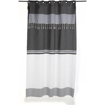 Maison & Déco Rideaux, stores Fouta Futée TANGER 250 à 280cm rideau ajustable hauteur Blanc
