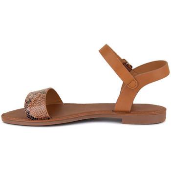Chaussures Femme Sandales et Nu-pieds J.bradford JB-LAUSANNE CAMEL Marron
