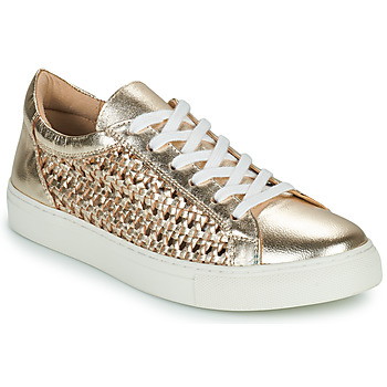 Chaussures Femme Baskets basses Cosmo Paris WELLY Doré
