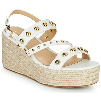 Chaussures Femme Sandales et Nu-pieds Cosmo Paris HOURA Blanc / Doré
