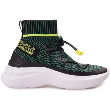 Chaussures Femme Baskets montantes Karl Lagerfeld  Noir