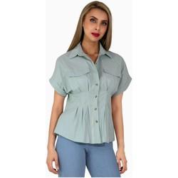 Vêtements Femme Chemises / Chemisiers Kebello Chemise Taille : F Vert S Vert