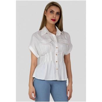 Vêtements Femme Chemises / Chemisiers Kebello Chemise Taille : F Blanc S Blanc