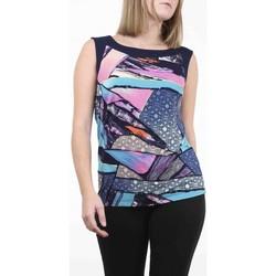 Vêtements Femme Tout accepter et fermer Georgedé Top Alba en Jersey Imprimé Abstrait Multicolore