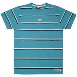 Vêtements Homme T-shirts manches courtes Jacker Poh stripes Bleu