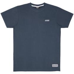Vêtements Homme T-shirts manches courtes Jacker Classic logo Bleu