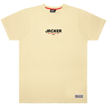 Vêtements Homme T-shirts manches courtes Jacker Reptilian Beige