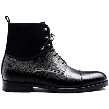 Chaussures Homme Boots Finsbury Shoes GRAHAMS Noir