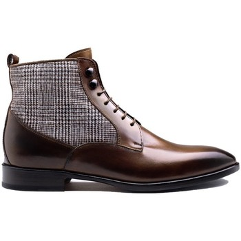Chaussures Homme Boots Finsbury Shoes MONTECRYSTO Noir