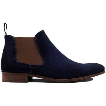 Chaussures Homme Boots Finsbury Shoes LENNY Bleu