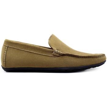 Chaussures Homme Mocassins Finsbury Shoes DANDY Vert