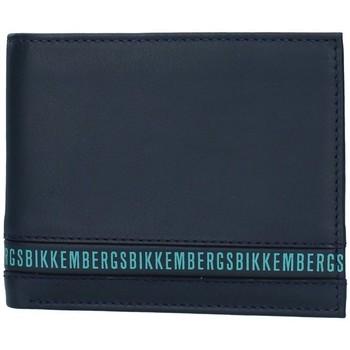 Sacs Homme Portefeuilles Bikkembergs E2BPME2D3043 BLEU