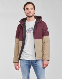 Vêtements Homme Blousons Jack & Jones JORBOBBY Violet / Marron