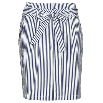 Vêtements Femme Jupes Vero Moda VMEVA Bleu / Blanc