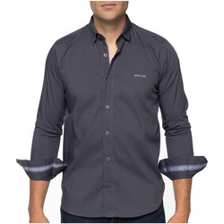 Vêtements Homme Chemises manches longues Shilton Chemise city classique Gris