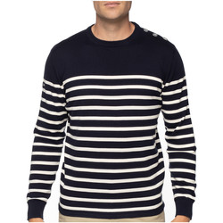 Vêtements Homme Pulls Shilton Pull marinière Bleu marine