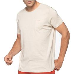 Vêtements Homme T-shirts manches courtes Shilton T-shirt poche poitrine col rond Beige