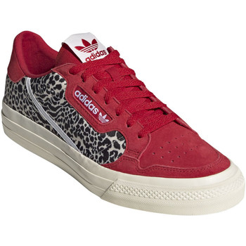 Chaussures Homme Baskets basses adidas Originals Continental Vulc Rouge