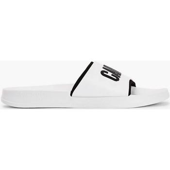 Chaussures Homme Claquettes Calvin Klein Jeans 5661971 blanc