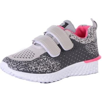 Chaussures Enfant Multisport Dek  Gris / Noir / Fuchsia