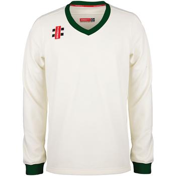 Vêtements Sweats Gray-Nicolls GN029 Blanc cassé / Vert