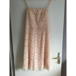 Vêtements Femme Robes courtes Autre Robe en dentelle Rose