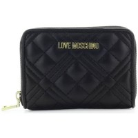 Sacs Femme Portefeuilles Love Moschino Quilted Black