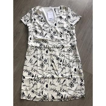 Vêtements Femme Robes courtes Les Petites Bombe Robe les petites bombes t M Blanc