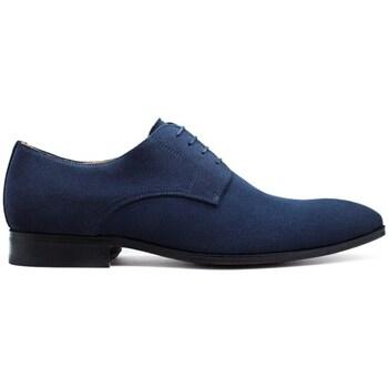 Chaussures Homme Derbies Finsbury Shoes MATT Bleu