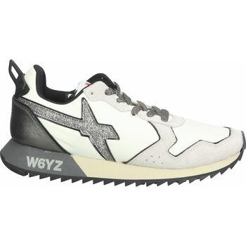 Chaussures Femme Baskets basses W6yz Sneaker Weiß/Grau