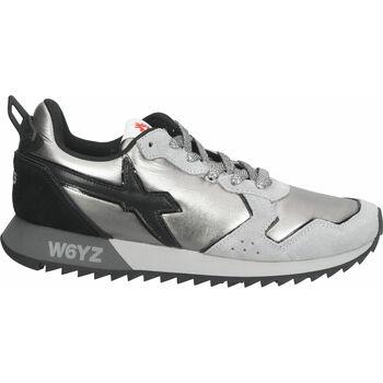 Chaussures Femme Baskets basses W6yz Sneaker Silber/Schwarz