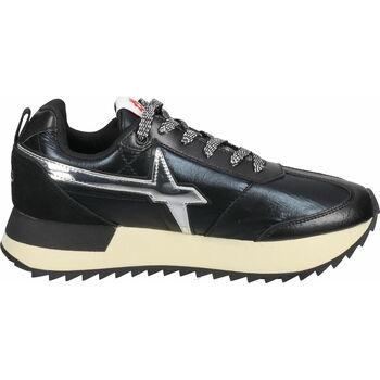 Chaussures Femme Baskets basses W6yz Sneaker Schwarz/Silber