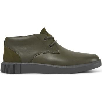 Chaussures Homme Boots Camper Bottines à lacets cuir BILL vert