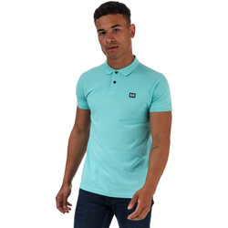 Vêtements Homme Polos manches courtes Weekend Offender Polo Barnum Turquoise