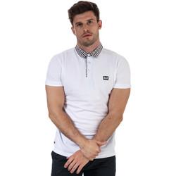 Vêtements Homme Polos manches courtes Weekend Offender Polo Calli col carreaux Blanc