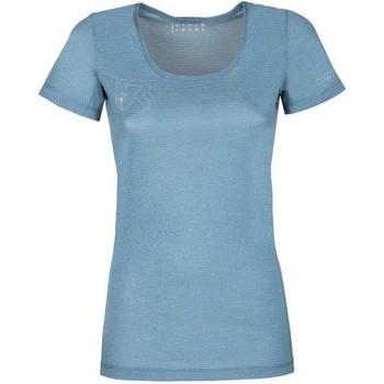Vêtements Femme T-shirts manches courtes Rock Experience T-shirt Femme  Offsets Cams SS bleu clair