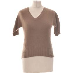 Vêtements Femme Pulls Eric Bompard Pull Femme  38 - T2 - M Marron
