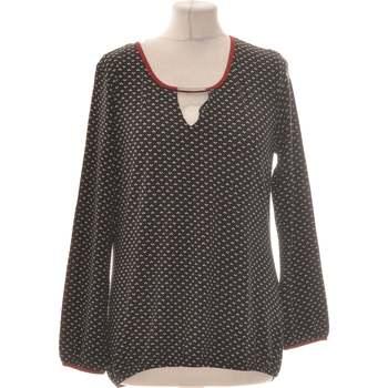 Vêtements Femme Tops / Blouses Un Jour Ailleurs Top Manches Longues  36 - T1 - S Noir