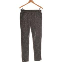 Vêtements Femme Pantalons fluides / Sarouels Collection Automne / Hiver Pantalon Slim Femme  36 - T1 - S Noir