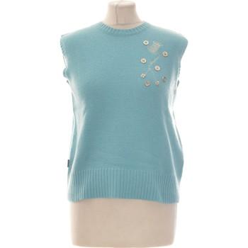 Vêtements Femme Gilets / Cardigans Moschino Pull Femme  44 - T5 - Xl/xxl Bleu