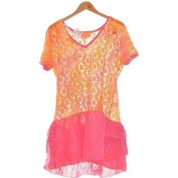 Vêtements Femme Robes courtes Manoush Robe Courte  42 - T4 - L/xl Rose